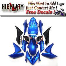 Fairings For Kawasaki Z1000 07 08 09 ABS Fairing Kit Bodywork Pearl Blue Carenes