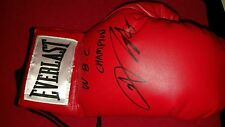 Chi In-jin Signed Everlast Boxing Glove Sig Auctions LOA