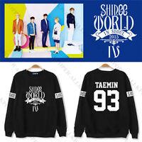 "KPOP SHINee Sweater World IV"" In Seoul Long Sleeve Unisex Pullover Sweatershirt"