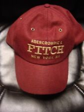 ABERCROMBIE AND FITCH WOOL BASEBALL HAT ONE SIZE BRAND NEW WITH TAGS