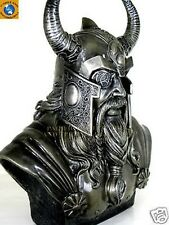 RULER OF ASGARD CHIEF GOD ODIN BUST STATUE FIGURINE NORSE MYTHOLOGY WODEN