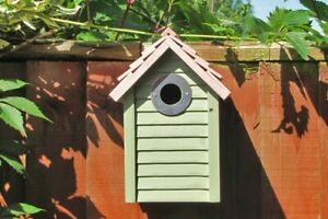 Bird Box | New England Style Nesting Garden Hanging Small Wooden House Nest
