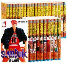 SLAM DUNK Comic Complete Set 1-31 Takehiko Inoue Manga Book Japan