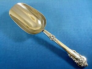 Grande Baroque by Wallace Custom Made Sterling Silver Handle Ice Scoop