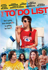 To Do List (Ws)  DVD NEW