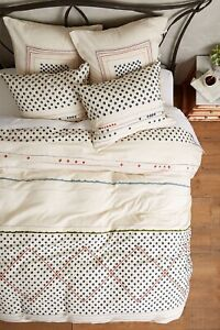 New Anthropologie Nomad Embroidered Duvet Twin MSRP: $168