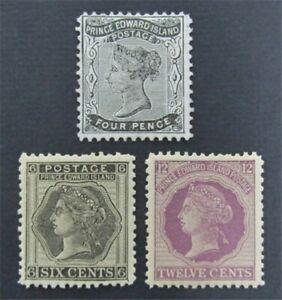 nystamps Canada Prince Edward Island Stamp # 9//16 Mint OG H/NH     S17y2012