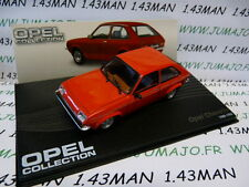 voiture 1/43 IXO eagle moss OPEL collection n°64 : CHEVETTE 1980/1982