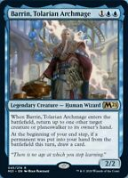 MTG Barrin, Tolarian Archmage Core Set 2021 RARE NM/M - PRESALE JULY 3rd