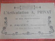 catalogue PRIVAT - Dijon -  année 1910 -  ( ref 21 )