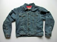 Boys Gap Kids Denim Blue Jean Jacket Lined Size XXL