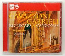 Cavazzoni, Gabrieli: Ricercars & Canzonas ~ NEW CD (Jul-2012, Newton Classics)