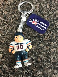 Chicago Bears Player Figure  Key Chain  NFL Team Player PVC Figure