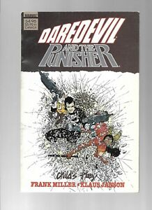 DAREDEVIL AND THE PUNISHER TPB - FRANK MILLER COVER! - (8.0) 1988