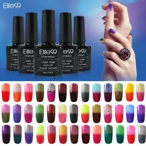 Elite99 Thermal Colour-Changing Nail Gel Polish Chameleon Varnish Manicure 10ML