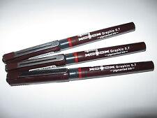 Rotring Xonox Tikky Graphic pens 0,7 mm (3 unidades) oferta!!!