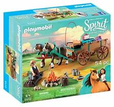 PLAYMOBIL® Spirit Riding Free Lucky's Dad with Covered Wagon Toy