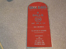 Original Skee Ball Vintage Style Instruction Decal Sticker *Not Reproduction*
