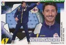 02 ENTRENADOR VICTOR SANCHEZ  ESPANA RC.DEPORTIVO STICKER LIGA 2016 PANINI