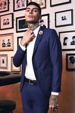 Cappotti e giacche da uomo blazer blu taglia L
