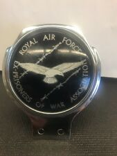 Ultra Rare License Car Badge Topper Royal Air Force Ex-prisoner Of War Assoc