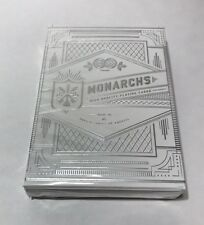 Monarchs Playing Cards - Silver (Rare) theory11