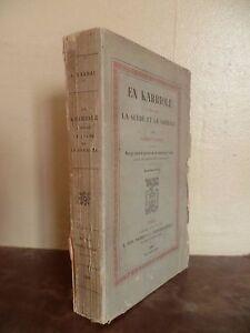 EN KARRIOLE... A.VANDAL ORNE GRAV/BOIS/FRONT. L.BRETON/PLON 1885 IN 12