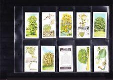 tea cards brooke bond trees in britain 1973 full set