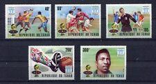 s5285)TCHAD 1978 MNH** W.C. Football - Campionato del Mondo Calcio 5v.