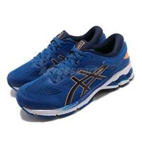 Asics Gel-Kayano 26 Tuna Blue Peacoat Navy White Men Running Shoes 1011A541-402