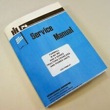 FULL FARMALL W-6 WD-6 TRACTOR SERVICE MANUAL SHOP REPAIR INTERNATIONAL McCORMICK