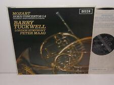 SXL 6108 Mozart Horn Concertos Barry Tuckwell LSO Peter Maag ED1 WBG