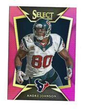 2014 Select Prizm Fuchsia #10 Andre Johnson Texans /199