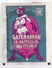 bustina figurine packet pochette  - GATCHAMAN LA BATTAGLIA DEI PIANETI LAMPO