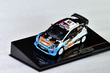 IXO Ford Fiesta RS WRC #15 Ostberg - Andersson 3rd Rally Sweden 2012 RAM505 1/43