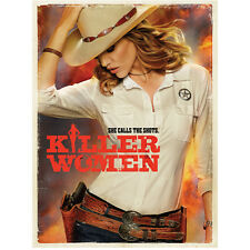 """Killer Women with Tricia Helfer as Molly """"She Calls the Shots"""" 8 x 10 Inch Photo"""