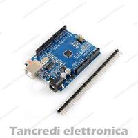 (Arduino-Compatibile) uno BOARD CON ATMEGA 328 ch340 USB rev3 R 3 chipset