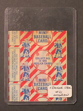 1993 Cracker Jack JOHN McGRAW Unopened Card #21 mt