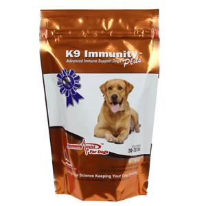 Aloha Medicinals - K9 Immunity Plus - Dogs 30-70 Pounds - 60 Soft Chews