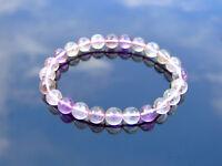 Super 7 Natural Gemstone Bracelet 6-9'' Elasticated Healing Stone Chakra Reiki