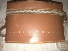 Bell & Howell Vintage Leather Movie Camera Carrying Case or handbag