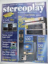 STEREOPLAY 12/95,PIONEER PDR 05,MARANTZ CD 17,TEAC P 2 S/D3,THORENS TCD 2000