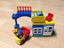 Lego duplo Eisenbahn Baustelle Steinbruch Verladestation mit kleinem LKW