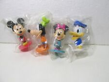 Kellogg's Set Of 4 Disney's Mickey Mouse & Friends Bobble Head Cereal Toy t5028