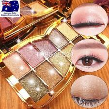 10 Colors Eye Shadow Shimmer Glitter Powder Palette Matte Cosmetic Eyeshadow