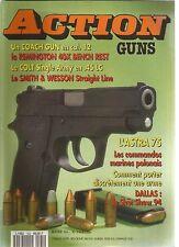 ACTION  GUNS N°164 COACH GUN EN CAL 12 / REMINGTON 40X BENCH REST / ASTRA 75