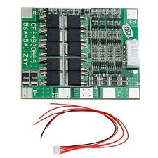 4S 30A 14.8V Li-ion Lithium 18650 Battery BMS PCB Board Integrated Circuits