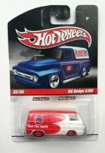 HOT WHEELS 1:64 SCALE REAL RIDERS DELIVERY SLICK RIDES 33/34 66 DODGE A100 76