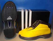 "MENS ADIDAS CRAZY 1 ""Kobe Bryant"" in colors YELLOW / YELLOW / BLACK SIZE 8"