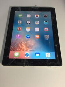 Apple iPad 2 9.7in 16GB Wi-Fi Tablet - Black Cracked #093
